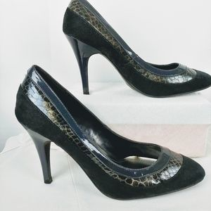 Women's Pointed Toe Heeled Pumps